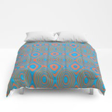 Color patches Comforters