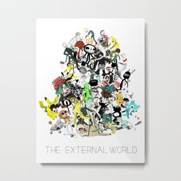 The External World Metal Print