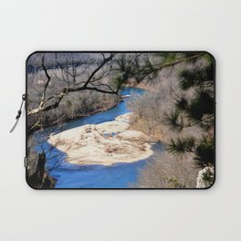Climbing Up Sparrowhawk Mountain above the Illinois River, No. 6 of 8 Laptop Sleeve