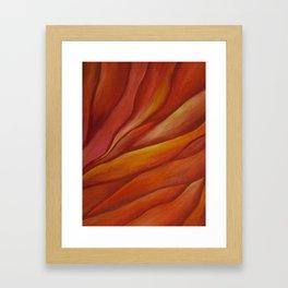 Mars Sunset Framed Art Print