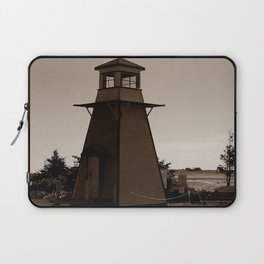 Cabot Beach Lighthouse Laptop Sleeve