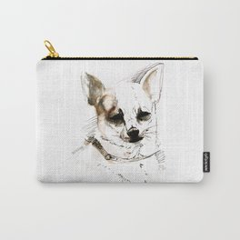 Chihuahua on Watercolor (TOPOS) Carry-All Pouch