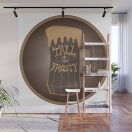 Tall and Frosty Wall Mural