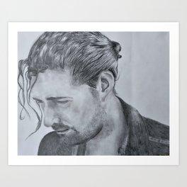 Andrew Hozier-Byrne Art Print