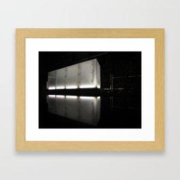 Cube Framed Art Print