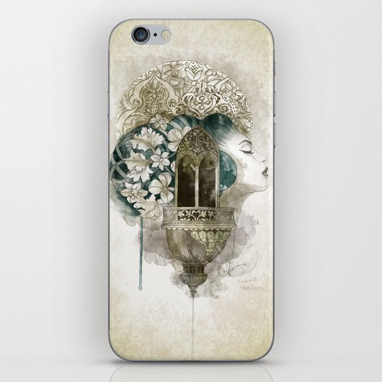 Stone Flowers iPhone Skin