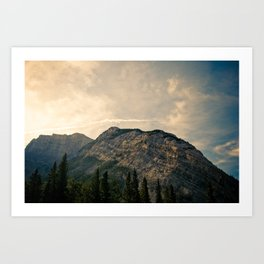 From the Bow River Art Print