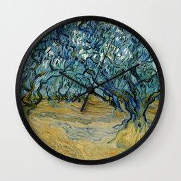 "Vincent Van Gogh ""The Olive Trees, Saint-Rémy"" Wall Clock"