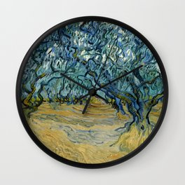 "Vincent Van Gogh ""The Olive Trees, Saint-Rémy"" Wall Clock"