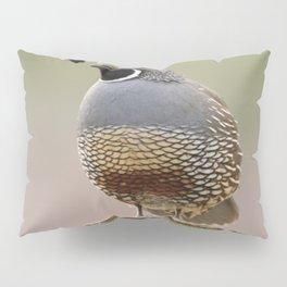 California Quail Pillow Sham