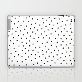 Black Cats Polka Dot Laptop & iPad Skin