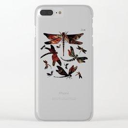 Libellules Colors II Jacob's 1968 Fashion Design Paris Clear iPhone Case