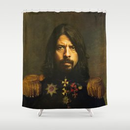 Dave Grohl - replaceface Shower Curtain