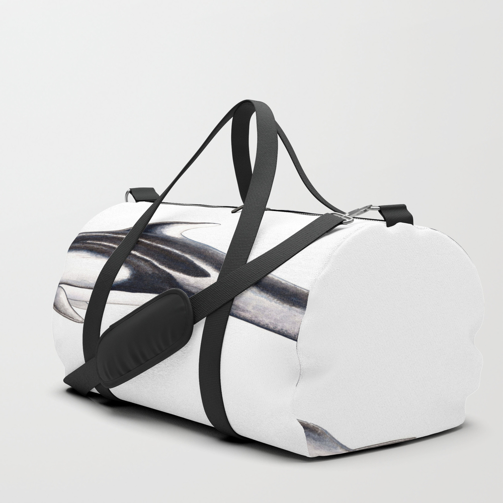 Pacific White-sided Dolphin Duffle Bag by Chloeyzoard DFL3897778