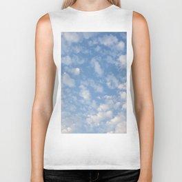 Cotton Clouds Biker Tank