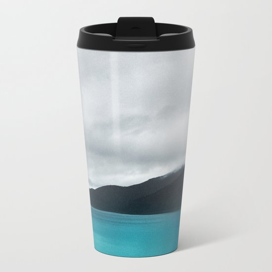 The Waters And The Wild Metal Travel Mug