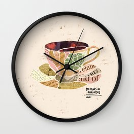 Araby - 100 Years of Dubliners Wall Clock