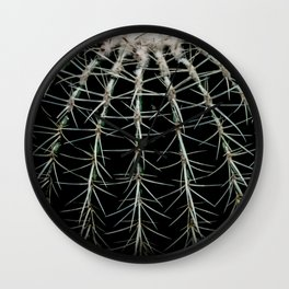 Carinate Cacti I Wall Clock