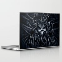 evil Laptop & iPad Skins featuring Evil by GLR67