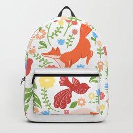 Early Fall Festive Flower Frolic Backpack