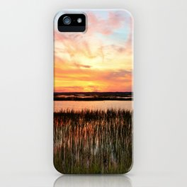 Sunset And Reflections iPhone Case