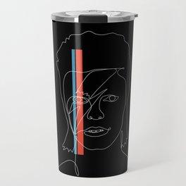 Lines of Stardust Travel Mug