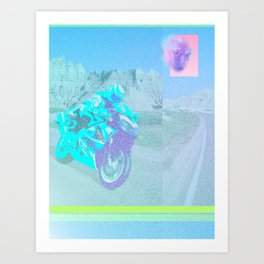 I-ROBOTOVRDRIVE Art Print