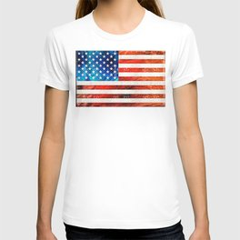 American Flag Art - Old Glory - By Sharon Cummings T-shirt