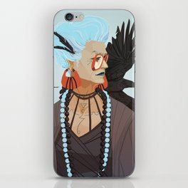 Raven Witch iPhone Skin