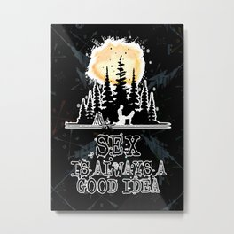 Landscapes Nature Forest Metal Print
