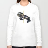 thorin Long Sleeve T-shirts featuring Thorin, Carousel Pony by MarieJacquelyn