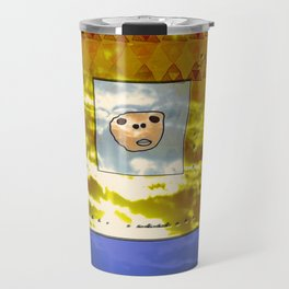 Tribal Idol / Canary Islands Travel Mug