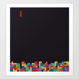Tetris Kunstdrucke
