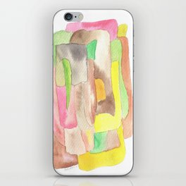171013 Invaded Space 9|abstract shapes art design |abstract shapes art design colour iPhone Skin