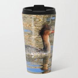 Common Merganser Travel Mug