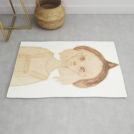 Little Witch Girl Rug
