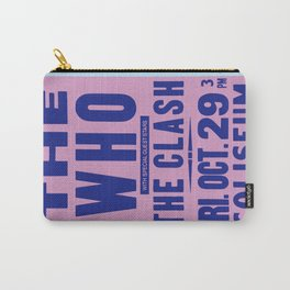 Los Angeles Concert 1982 Carry-All Pouch