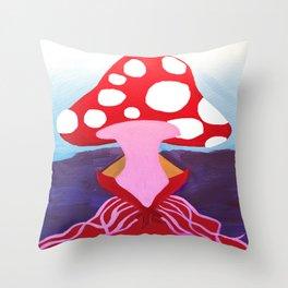 SEXY SHROOM Throw Pillow