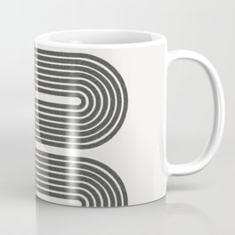 Retro, Mid-Century Line Art Coffee Mug