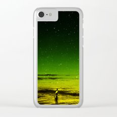 Lost Surfer Star Series Clear iPhone Case