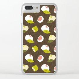 Dim sum pattern Clear iPhone Case