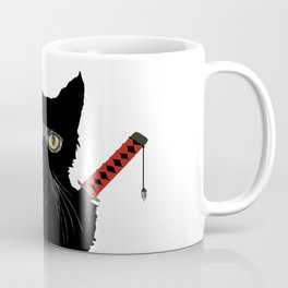 Ninja Cat Coffee Mug