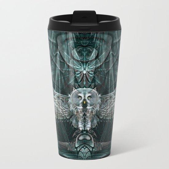 The Owl Metal Travel Mug