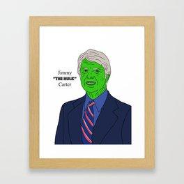 Jimmy Carter Framed Art Print