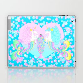 Mermicorn Twins Candy and Bubbles Laptop & iPad Skin