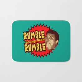 Rumble Young Man Rumble  |  Ali Bath Mat
