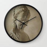 goddess Wall Clocks featuring Goddess by Mary Kilbreath