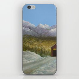 Over the River and Into the Valley iPhone Skin