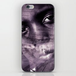 """""""Journey Of The Mind: Blk & Wht"""" iPhone Skin"""