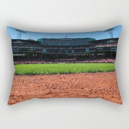From Centerfield - Boston Fenway Park, Red Sox Rectangular Pillow